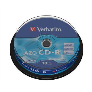 Verbatim CDR 52x 80 min (10)   Achat / Vente CD   DVD   BLU RAY VIERGE