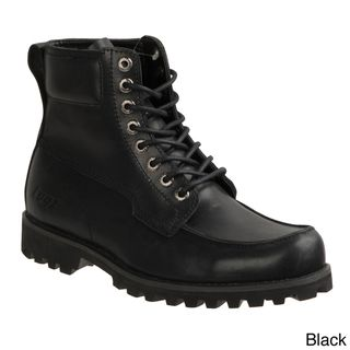 Lugz Mens Country Leather Lace up Boots