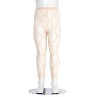 Tic Tac Toe Little Girls Size 2 4 Ivory Floral Lace