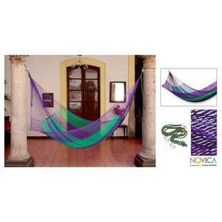 Nylon Green Vineyard Hammock (Mexico)