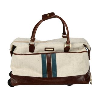 Isabella Fiore South Hampton 20 inch Carry on Rolling Duffel Bag