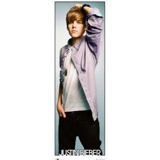 Justin Bieber, (Dimension  Porte 53 x 158cm)… Voir la présentation