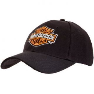 Harley Davidson   Shield Black Adjustable Cap Clothing