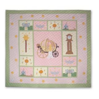 King size Fairy Tale Princess Pink Quilt