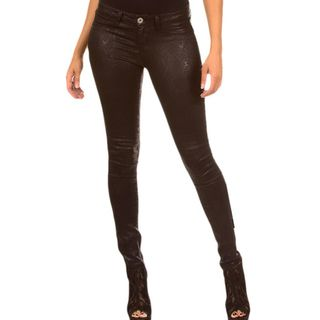 Stanzino Womens Super Stretchy Snake Skin Skinny Pants