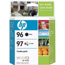 HP No. 96 / 97 Black and Tri color Ink Cartridges Combo Pack