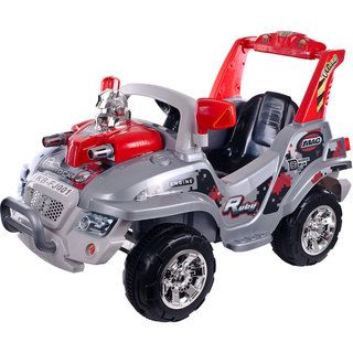 Lil Rider Battery Operated Rock Recon Car with Remote