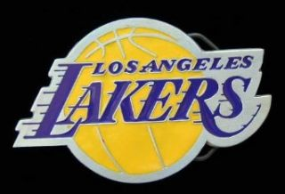 Los Angeles Lakers Logo Belt Buckle Clothing