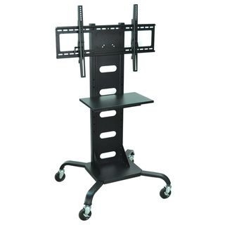 Wilson Mobile Steel Black 37 to 60 inch Flat Panel TV Stand