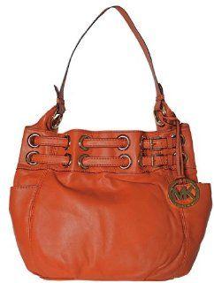 Leather Laced Grommet Large Shoulder Bag Handbag Satchel Purse Shoes