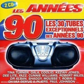 LES 30 TUBES EXCEPTIONNELS DES ANNEES 90   Achat CD COMPILATION pas