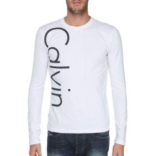 CALVIN KLEIN JEANS T Shirt Homme blanc   Achat / Vente T SHIRT CALVIN