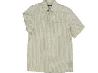 Mens Alfani Short Sleeve Shirt White Pure Small Clothing