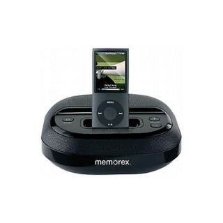 Memorex Mi5091BLK Black Speaker System with iPod Dock (Refurbished