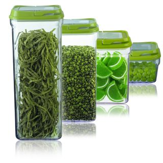 Art and Cook Green 4 piece Storage Container Set