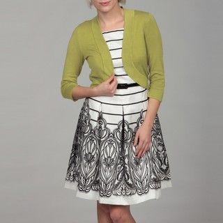 Jessica Howard Womens Bolero Sweater