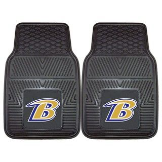 Fanmats Baltimore Ravens 2 piece Vinyl Car Mats