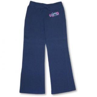Roxy Girls Navy Pants ~ Flower Power SIZE M Clothing