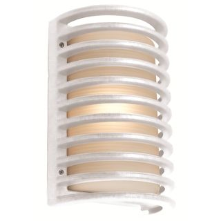 Access Poseidon 1 light White Wall Sconce
