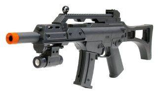 Spring Mini G36A Assault Rifle FPS 120 Flashlight Airsoft