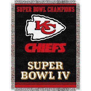 Kansas City Chiefs NFL Super Bowl Commemorative Woven