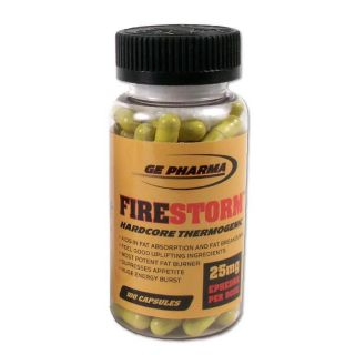 GE Pharma Fire Storm 100 ct Supplement