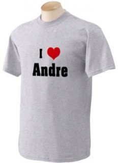 I Love/Heart Andre Youth T Shirt (for Kids) in Various