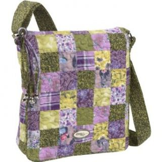 Donna Sharp Grape Patch Messenger Bag (Grape Patch