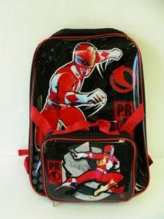 Power Rangers Large School Backpack with BONUS Detachable