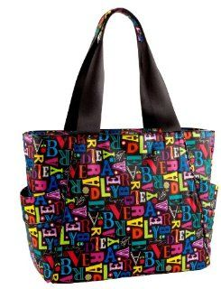 Vera Bradley From A to Vera Collection   Large Travel Tote Bag Shoes