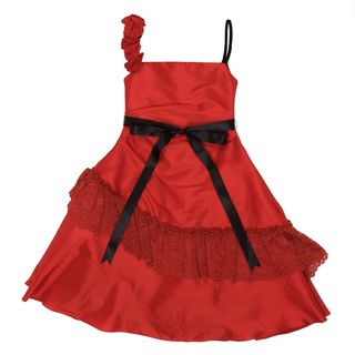 Paulinie Collection Girls Spanish Dress