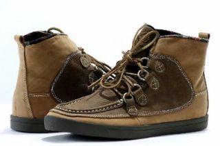 True Religion Mens Brent Fashion Sneaker Cognac/Brown Shoes Shoes