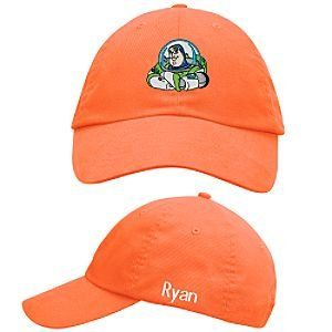 Disney Personalized Buzz Lightyear Baseball Cap for Boys