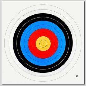 Achery Paper Target Face 40 Cm 16 Archery   Lightweight
