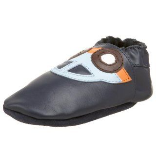 Infant Car Baby Soft Sole Shoes,Navy Blue,Medium (6 12 Months) Shoes