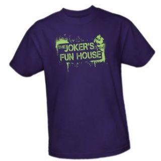 Jokers Fun House    Batman Arkham City Adult T Shirt