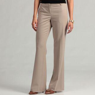 Calvin Klein Womens Wide Leg Lux Stretch Bowery Pants