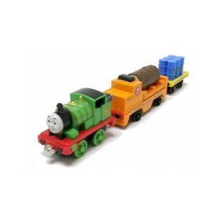 Thomas Take Action Wharf Wooden rail Cars (Pack of 3)