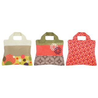 Envirosax Origami 3 bag Reusable Pouch Shopper Tote
