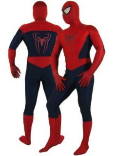 Super Deluxe Adult Spiderman Costume   Large: Clothing