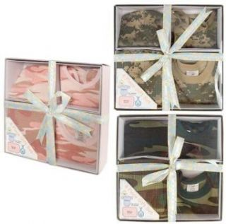 Camouflage Infant Gift Sets Camo Newborn Baby Gift Set