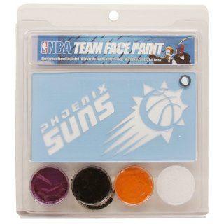 NBA Phoenix Suns Face Paint with Stencils Sports