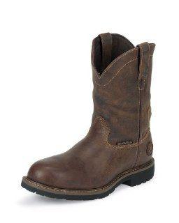 Justin Mens Rugged Utah Waterproof Insulated Boot   WK4680 Shoes