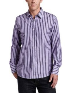 Hugo Boss Mens Lucas Shirt, Open Purple, XX Large