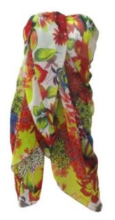 La Leela Multicolor Allover Floral Printed Beach Swim