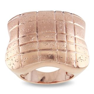 Miadora 18k Rose gold Plated Cocktail Ring