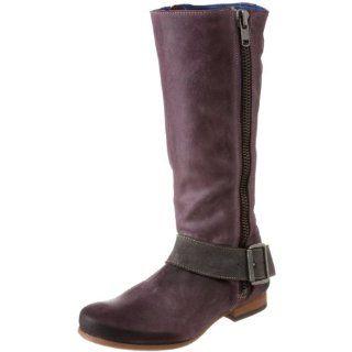 John Fluevog Womens Rtp Motorcycle Boot,Purple,11 M US Shoes