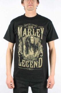 Bob Marley   Rebel Legend Adult T Shirt in Black Clothing