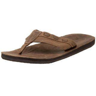 Sanuk Mens Saddle Up Sandal,Brown,7 M US Shoes