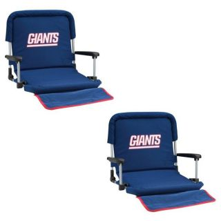 New York Giants Deluxe Stadium Seats (Set of 2)